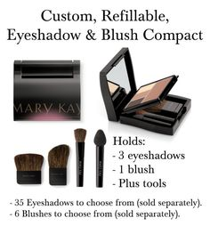 "Marykay.com/Christiana.walker  then search ""compact"" to look at this product in more depth.   ""Mary Kay Custom, Refillable Compact!!"" by christiana-nisi-walker on Polyvore"