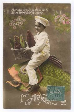 Little Hokum Rag: April Fools French Postcards