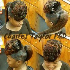394 Best Ponytails Images In 2019 Black Girls Hairstyles Braided Hairstyles Ponytail Styles