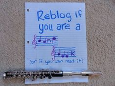 Only band nerds can read this.