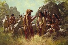 Howard Terpning is an american painter and illustrator best known for his paintings of Native Americans. Native American Models, Native American Paintings, Native American Wisdom, Native American Pictures, Indian Artwork, Indian Paintings, American Indian Art, American Indians, American History