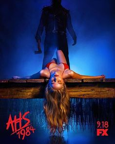 """FX has been unleashing brand new, retro-style posters for the slasher-themed """"American Horror Story: at a steady clip, and rather than writing indivi American Horror Story, Six Pack Abs Workout, Butt Workout, Ahs, Anthology Series, Scary Makeup, Muscle Fitness, Scary Halloween, Entertainment"""
