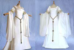 Elfenkleid Brautkleid AMIDA Hochzeitskleid by Elfenkleider on Etsy