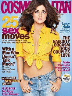 Lucy Hale  Cosmopolitan  September 2012
