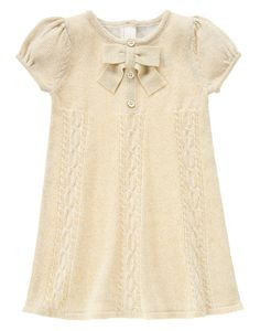 Sparkle Sweater Dress at Gymboree $19.19