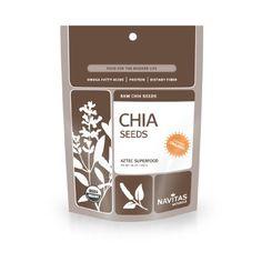 Navitas Naturals Organic Raw Chia Seeds,  1 Pound  Pouches - http://goodvibeorganics.com/navitas-naturals-organic-raw-chia-seeds-1-pound-pouches/