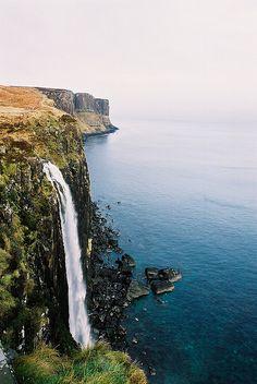 brutalgeneration: 1 Kilt Rock Waterfall, Isle of Skye by Dr Hao on Flickr.