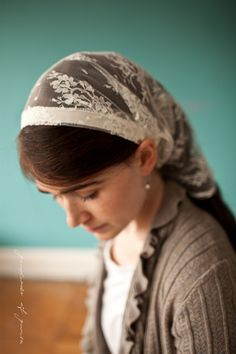 small catholic chapel veil - Google Search