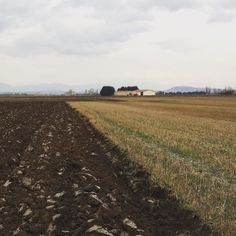 Contrastes en #Arkaia ... es época de preparar la tierra para los nuevos cultivos que darán color a los campos #turismo #rural junto a #Vitoria #Gasteiz #accesible #ecología #igersgasteiz #igerseuskadi @nekatur_nekazalturismo_elkarte @turismo_vitoria @lonelyplanet_es @agrotravel