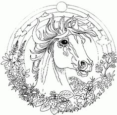 Whole website of free printable coloring pages, many categories. Also, mandalas