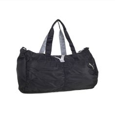 f902d7c2431 Amazon.com  Puma Women s Shine Barrel Duffel Gym Bag w  Yoga Mat Strap  (Black Grey)  Shoes