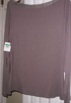 Top  Sleep Calvin Klein Intimates Lounge Wear - Top - New Large Taupe - Blouse  #CalvinKlein