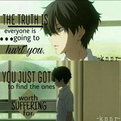 Tags: Hyouka, Anime Quotes