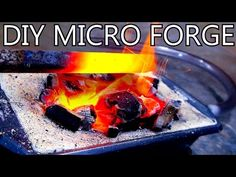 How to DIY Your Own Tabletop Blacksmithing Forge  from Popular Mechanics