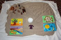 Explore and Express: Expedition in the Desert: Joseph Bible Crafts For Kids, Bible Study For Kids, Bible Lessons For Kids, Preschool Crafts, Kid Crafts, Sunday School Teacher, Sunday School Activities, Bible Activities, Sunday School Crafts