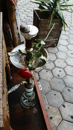 الاركيلة والورد لما بيجتمعوا ❤