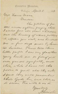 We've scoured the Letters of Note archives once again, this time for notes from men who would hold or were holding the highest office in the land. American Presidents, Us Presidents, American Civil War, American History, Us History, Family History, Black History, Abraham Lincoln Life, Letters Of Note
