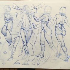 Corrections in a students pad from my Inventive Drawing class at ArtCenter in Pasadena, CA. The student is quite good. What I'm doing is correcting a few things, but mainly showing her what I want her to focus on next. Male Figure Drawing, Figure Sketching, Figure Drawing Reference, Art Reference Poses, Anatomy Reference, Human Anatomy Drawing, Gesture Drawing, Drawing Poses, Life Drawing