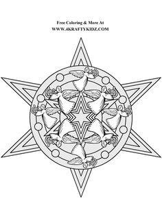 square mandala coloring pages - Bing Images