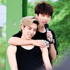 Infinite Woohyun and cute Dongwoo
