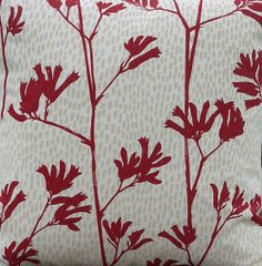 Hand Screen Printed Fabric by Ink and Spindle  by GoOnMakeMe, $25.00