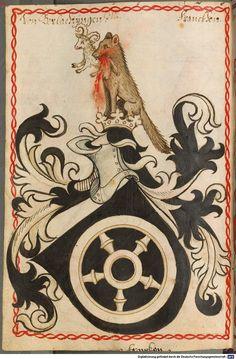 Scheibler'sches Wappenbuch Süddeutschland, um 1450 - 17. Jh. Cod.icon. 312 c  Folio 312
