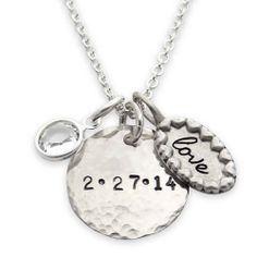 Love this!  Friends and Family 30% off sale ends Thursday.  Coupon code FF2013  Shop custom necklaces, earrings, and bracelets by jewelry designer jenny present®. More than accessories—this is jewelry that tells a story.