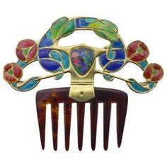 ARCHIBALD KNOX An Important Archibald Knox Diadem Comb for Liberty & C