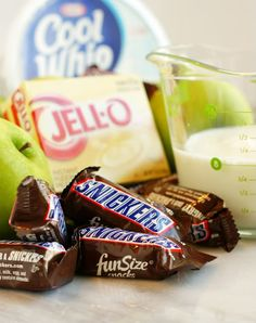 Apple/Snickers Salad
