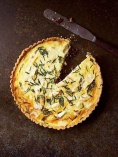 Goat Cheese And Red Onion Tart