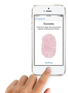 The touch id fingerprint sensor is probably my favorite new feature