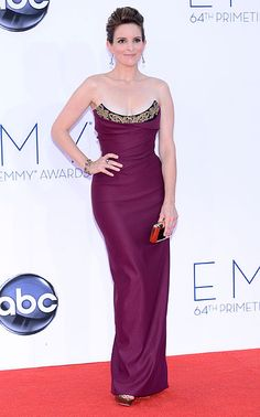 Tina Fey in Vivienne Westwood at the 2012 Emmy's