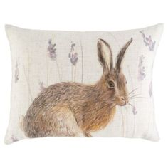 Buy Hare Double Sided Cushion from our Cushions range - Tesco