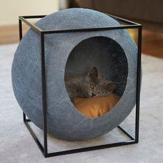 10 niches et petites cabanes pour chats que ces derniers pourraient adorer diy brico pinterest. Black Bedroom Furniture Sets. Home Design Ideas