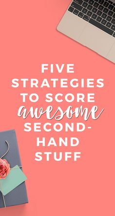 Exactly how I learned to love second-hand stuff, and where to find the best deals on used gear - everything from furniture to an entire new kitchen! (Seriously.)