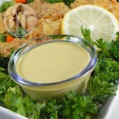 Molho de mostarda e mel fácil @ allrecipes.com.br