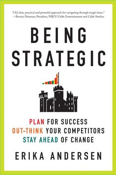 Learn the key ways to be strategic.