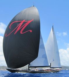 Marie, a very nice Ketch. The 2012 Bucket in St. Barth's.
