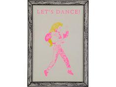 Marke Newton Poster Let's Dance