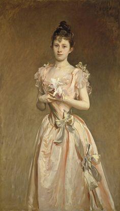 John Singer Sargent, Miss Grace Woodhouse, 1890, National Gallery of Art, Washington, D.C.