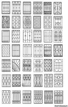 Window Coverings For Sliding Glass Windows - Elegant minimalist glass window pattern design Elegant minimalist glass window pattern design Elega - Home Window Grill Design, Modern Window Design, Iron Window Grill, Window Grill Design Modern, House Window Design, Balcony Grill Design, Grill Door Design, Modern Windows, Balcon Grill