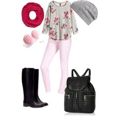 Cool for school Spring. Already have boots, hat and backpack