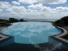Infinity pool, tanzania africa