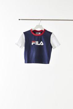 a24a4dacd Women s Fila Anna Cropped T-Shirt
