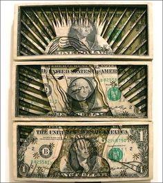 Scott Campbell Dollar Sculpture