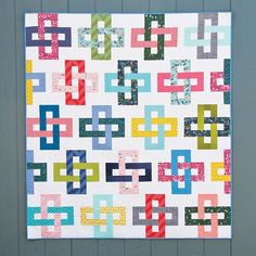 Strip and Flip Quilt | Cluck Cluck Sew