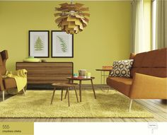 Zielony salon