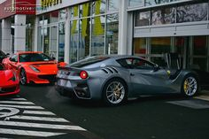 Ferrari has started making deliveries of the new F12tdf just in time for Christmas, the latest owners are from Germany!