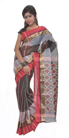 Stripes & Diamonds, Handloom Cotton