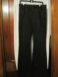 Armani Exchange Womens Dress Pants Size 8 Black  #ArmaniExchange #DressPants